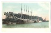 Norfolk, Virginia Postcard:   N. & W. Coal Piers