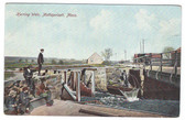 Mattapoisett, Massachusetts Postcard:  Herring Weir
