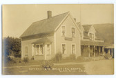 Glen, New Hampshire Real Photo Postcard:  Kittredge's Sporting Camps