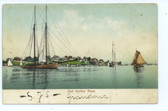 Hull, Massachusetts Postcard:  Harbor View