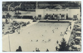Kiamesha Lake, New York Postcard:  The Concord Sports Resort