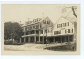Peterborough, New Hampshire Real Photo Postcard:  The Tavern & Odd Fellows Hall