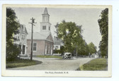 Plainfield, New Hampshire Postcard:  The Plain