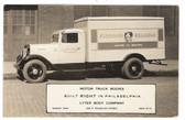 Philadelphia, Pennsylvania Real Photo Postcard:  Kingan's Reliable Hams and Bacon Delivery Truck