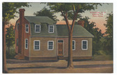 Edenton, North Carolina Postcard:  Denton Tea Party House
