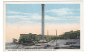 Anaconda, Montana Postcard:  General View of Converter, Washoe Smelter