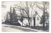 Asheville, North Carolina Real Photo Postcard:  Trinity Church