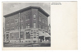 Ellsworth, Maine Postcard:  First National Bank