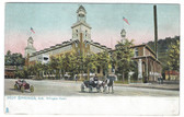 Hot Springs, Arkansas Postcard:  Arlington Hotel