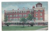Newport News Virginia Postcard:  The Warwick Hotel