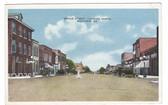 Moultrie, Georgia Postcard:  Broad Street, Looking North
