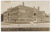 "Beatrice, Nebraska Real Photo Postcard:  ""New"" High School"