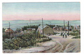 Waldoboro, Maine Postcard:  Stone Sheds at Granite Works