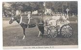 Mount Upton, New York Real Photo Postcard:  July 4, 1909 Parade Float