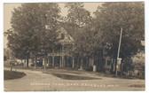 Fryeburg, Maine Real Photo Postcard:  Edgewood Farm & Gas Pump