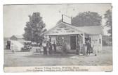 Whately, Massachusetts Postcard:  Graves Filling Station & Ice Cream