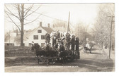 Claremont, New Hampshire Real Photo Postcard:  150th Anniversary Parade