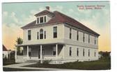 Solon, Maine Postcard:  North Somerset Grange Hall