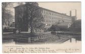 Waltham, Massachusetts Postcard:  Boston Manufacturing Co. Cotton Mill