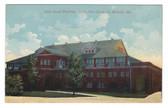Sedalia, Missouri Postcard:  Livestock Pavilion, State Fairgrounds