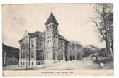Idaho Springs, Colorado Postcard:  Public School
