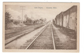 Creston, Ohio Postcard:  Erie Railroad Station
