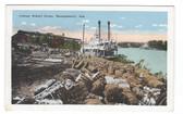 Montgomery, Alabama Postcard:  Cotton Wharf Scene