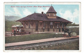 Blue Ridge Mountains, Pennsylvania:  Buena Vista Springs Railroad Station