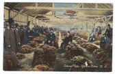 Winston-Salem, North Carolina Postcard:  Tobacco Sale