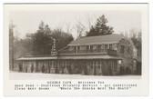 Clinton, Arkansas Real Photo Postcard:  Ozark Cafe