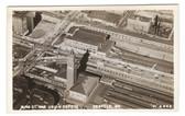 Seattle, Washington Real Photo Postcard:  King Street & Union Depots