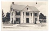 Billerica, Massachusetts Real Photo Postcard:  Masonic Temple