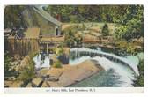 East Providence, Rhode Island Postcard:  Hunt's Mills