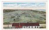 Ormond, Florida Postcard:  Bird's Eye View of Golf Links
