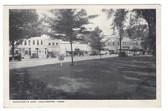 Colchester, Connecticut Postcard:  Merchant's Row