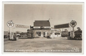Summerton, South Carolina Real Photo Postcard:  Stuckey's Candy Shoppe & Gas Station