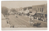 Tyndall, South Dakota Real Photo Postcard:  1907 Old Settlers Reunion