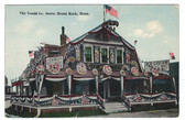 Brant Rock, Massachusetts Vintage Postcard:  The Tradd Co. Store