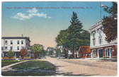 Colebrook, New Hampshire Postcard:  Main Street, Colebrook House, & Halcyon Theatre
