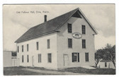 Etna, Maine Vintage Postcard:  Odd Fellows Hall