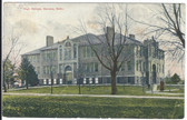 Geneva, Nebraska Vintage Postcard:  High School