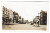 Chillicothe, Illinois Real Photo Postcard:  2nd Street