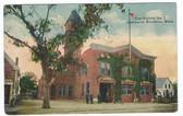 Brockton (Campello), Massachusetts Postcard:  Fire Station No. 2