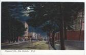 New Rochelle, New York Postcard:  Huguenot Street