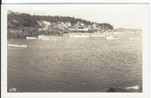 New Harbor, Maine Real Photo Postcard:  View
