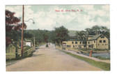 Alton Bay, New Hampshire Vintage Postcard:  Main Street