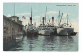 Mobile, Alabama Vintage Postcard:  Shipping Scene