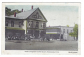 Contoocook, New Hampshire Postcard:  Reed's Drug Store