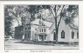 Amherst, New Hampshire Vintage Postcard:  Street Scene