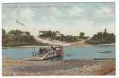 Van Buren, Maine Postcard:  Ferry Between United States & Canada